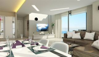 Sea View Apartments with Private Beach in Kargıcak, Interior Photos-1