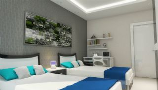 Sea View Apartments with Private Beach in Kargıcak, Interior Photos-4