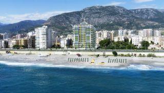 Kvalitet Lägenheter i Alanya med Panoramautsikt över Havet, Alanya / Mahmutlar