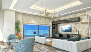 Qualitäts Wohnungen in Alanya mit Panorama-Meerblick, Foto's Innenbereich-2