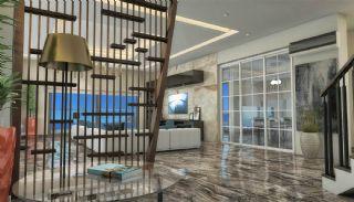 Qualitäts Wohnungen in Alanya mit Panorama-Meerblick, Foto's Innenbereich-3