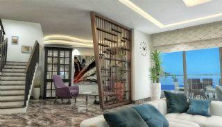 Qualitäts Wohnungen in Alanya mit Panorama-Meerblick, Foto's Innenbereich-4