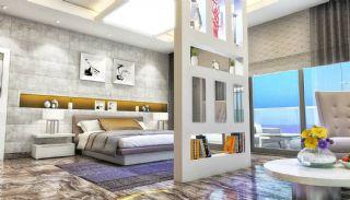 Qualitäts Wohnungen in Alanya mit Panorama-Meerblick, Foto's Innenbereich-7