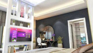 Qualitäts Wohnungen in Alanya mit Panorama-Meerblick, Foto's Innenbereich-9