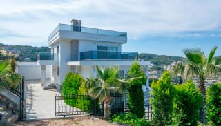 Furnished Sea View House with Private Pool in Kargicak, Alanya / Kargicak - video