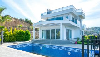 Furnished Sea View House with Private Pool in Kargicak, Alanya / Kargicak