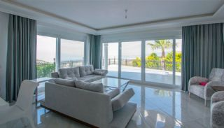 Furnished Sea View House with Private Pool in Kargicak, Interior Photos-3