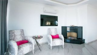 Furnished Sea View House with Private Pool in Kargicak, Interior Photos-4