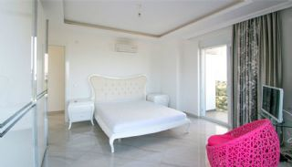 Furnished Sea View House with Private Pool in Kargicak, Interior Photos-7