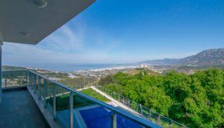 Luxus Freistehende Villa in Alanya mit Meerblick, Foto's Innenbereich-15
