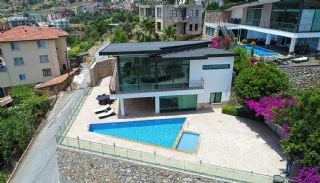 Uninterrupted Sea View Alanya House with Furniture, Alanya / Tepe - video