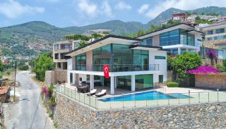 Uninterrupted Sea View Alanya House with Furniture, Alanya / Tepe