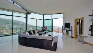 Uninterrupted Sea View Alanya House with Furniture, Interior Photos-11