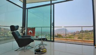 Uninterrupted Sea View Alanya House with Furniture, Interior Photos-12