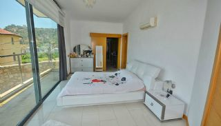 Uninterrupted Sea View Alanya House with Furniture, Interior Photos-15