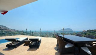 Uninterrupted Sea View Alanya House with Furniture, Interior Photos-21