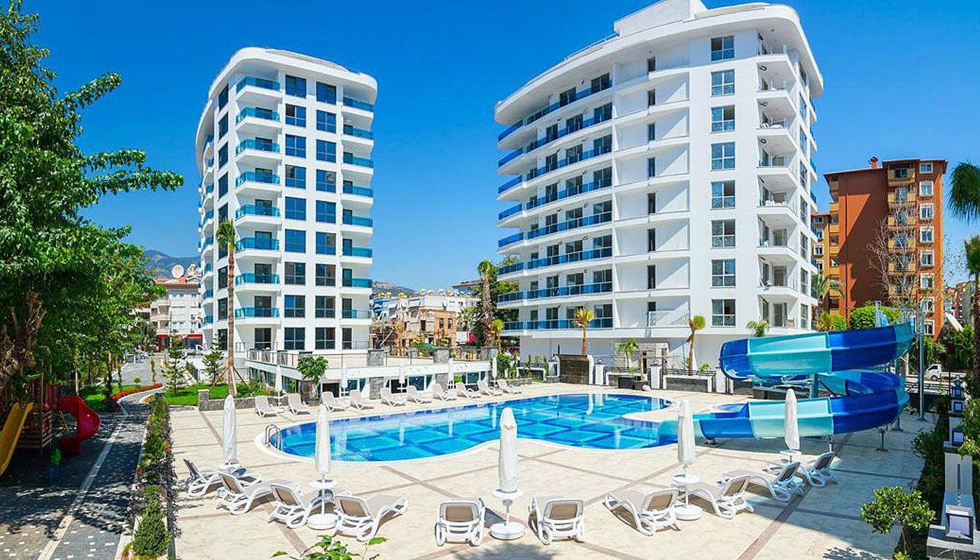Hoge kwaliteit alanya appartementen in het hart van de stad for Luxe vakantie appartementen
