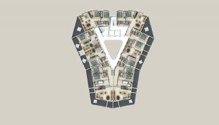 Appartements à Alanya Entourés Par la Forêt, Projet Immobiliers-1