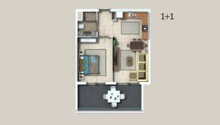 Appartements à Alanya Entourés Par la Forêt, Projet Immobiliers-2