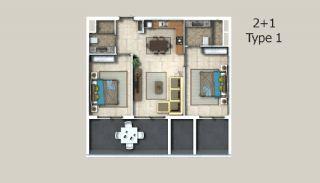 Appartements à Alanya Entourés Par la Forêt, Projet Immobiliers-3