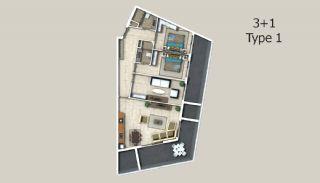 Appartements à Alanya Entourés Par la Forêt, Projet Immobiliers-5