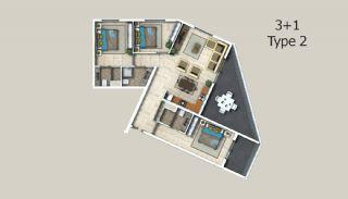 Appartements à Alanya Entourés Par la Forêt, Projet Immobiliers-6