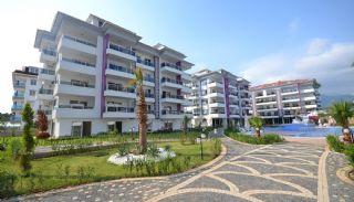 آپارتمان آماده تحویل با طراحی شیک در آلانیا، ترکیه, آلانیا / کاستل - video