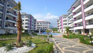 آپارتمان آماده تحویل با طراحی شیک در آلانیا، ترکیه, آلانیا / کاستل