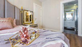 Квартиры с Уникальным Дизайном в 50 м от Пляжа в Алании, Фотографии комнат-12