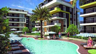 Fullt Utrustade Lägenheter med Central Plats i Alanya, Alanya / Oba - video