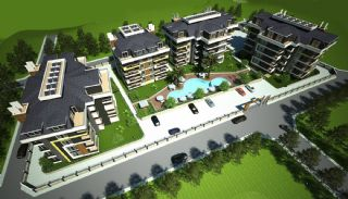 Fully Equipped Apartments with Central Location in Alanya, Alanya / Oba