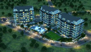 High-Quality Apartments with Game Room in Alanya Cikcilli, Alanya / Cikcilli - video