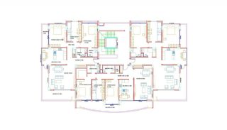 High-Quality Apartments with Game Room in Alanya Cikcilli, Property Plans-2