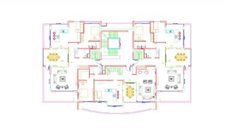 High-Quality Apartments with Game Room in Alanya Cikcilli, Property Plans-3