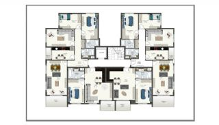 Alanya Apartments Offering Peace and Comfort in Oba, Property Plans-1