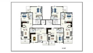 Alanya Apartments Offering Peace and Comfort in Oba, Property Plans-2