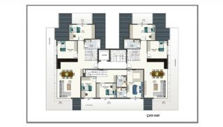 Alanya Apartments Offering Peace and Comfort in Oba, Property Plans-3