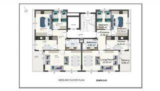 Alanya Apartments Walking Distance to Cleopatra Beach, Property Plans-2