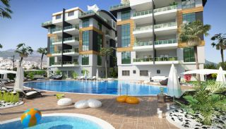Holiday Apartments with Separate Kitchen in Alanya Oba, Alanya / Oba