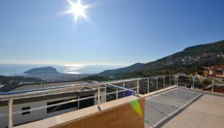 Sea View 5+1 Villa in Alanya with Rich Features, Interior Photos-18