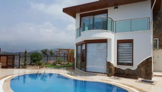 Fully Furnished Villa Overlooking Alanya Castle and Sea, Alanya / Kargicak