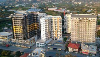 Appartements Alanya à Distance de Marche de la Mer,  Photos de Construction-1