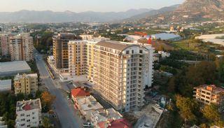 Appartements Alanya à Distance de Marche de la Mer,  Photos de Construction-2