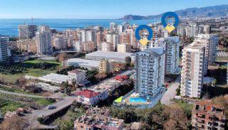 Appartements Alanya à Distance de Marche de la Mer, Alanya / Mahmutlar
