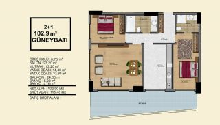 Delightful Alanya Apartments Walking Distance to the Sea, Property Plans-1