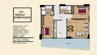 Delightful Alanya Apartments Walking Distance to the Sea, Property Plans-2