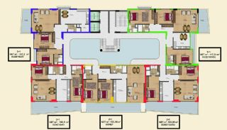Delightful Alanya Apartments Walking Distance to the Sea, Property Plans-6
