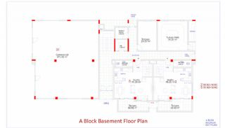 Central Apartments in Kargicak Short Distance to the Sea, Property Plans-1