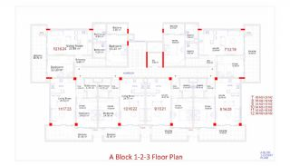 Central Apartments in Kargicak Short Distance to the Sea, Property Plans-3