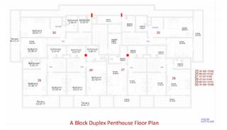 Central Apartments in Kargicak Short Distance to the Sea, Property Plans-5